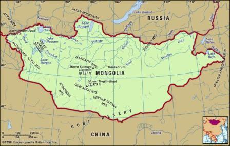 المناخ في منغوليا الموقع الجغرافي وحقائق مثيرة للاهتمام