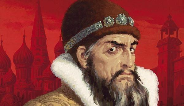 Ilk rus çarı İvan Qroznı